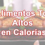Alimentos altos en calorías para engordar sin la sensación de saciedad
