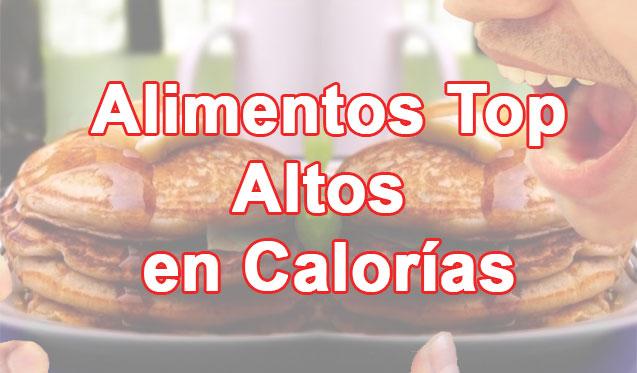 Alimentos altos en calor as para engordar sin la sensaci n de saciedad - Calcular calorias de los alimentos ...