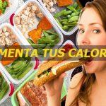 Consejos para aumentar calorías y engordar saludablemente