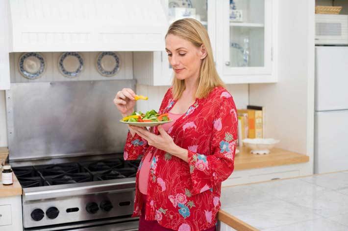 cuanto engordar en el embarazo