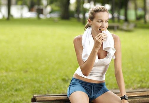 comer antes de hacer ejercicios