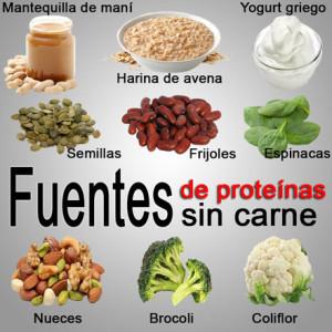 Fuentes de proteínas sin carne para aumentar masa muscular