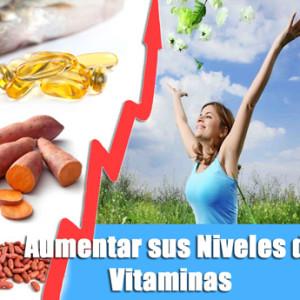 Aumentar sus niveles de vitaminas para no sentirse cansado