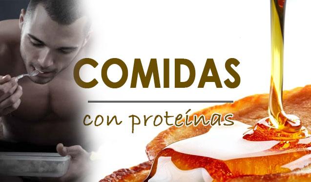 comidas con proteínas para engordar