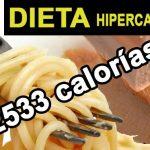 Plan de dieta hipercalórica esencial para un aumento de peso saludable y natural
