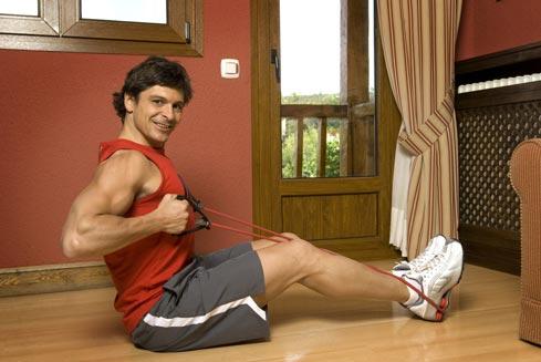 ganar masa muscular en casa