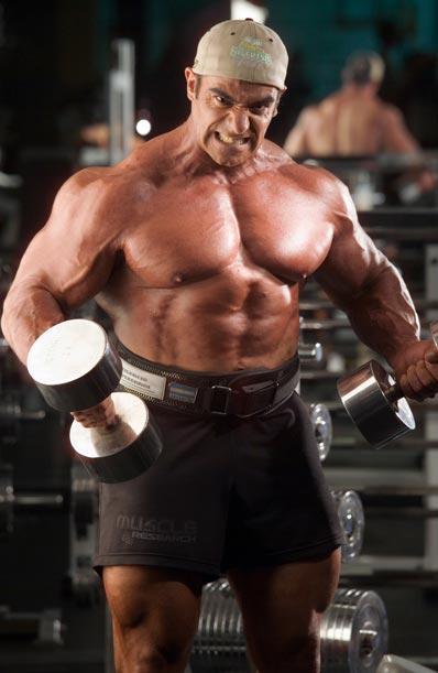 rutina de pesas para ganar masa muscular