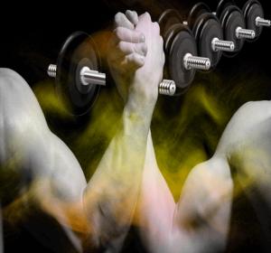 Ejercicios para brazos en casa, con pesas para hombres y mujeres