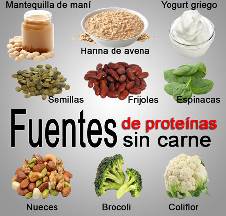 fuentes de proteínas