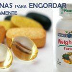 Vitaminas para engordar rápidamente
