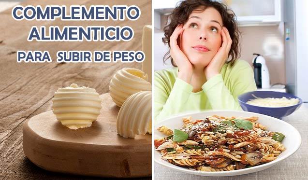 complemento alimenticio para engordar