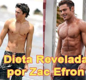 ¿Cómo ganar musculo igual que el actor Zac Efron? Dieta revelada 2017